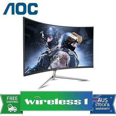AOC C32V1Q 31.5in Full HD 75Hz VA Ultra Narrow Curved Monitor
