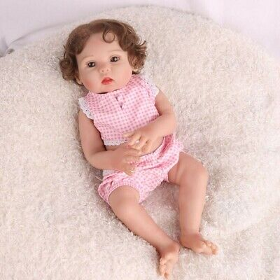 16 in Full Body Silicone Reborn Baby Doll Anatomically Handmade Xmas Gifts Doll