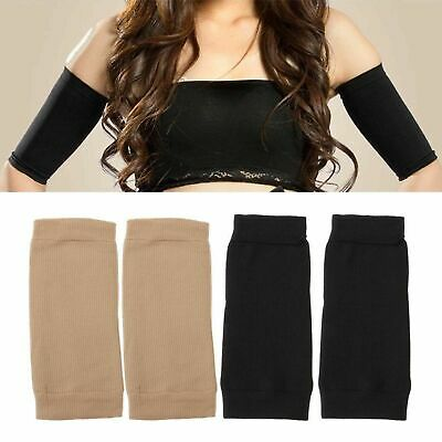 Comfortable Arm Shaper Fat Buster Slimming Wrap Belt Band Weight Lose Thigh 2pcs