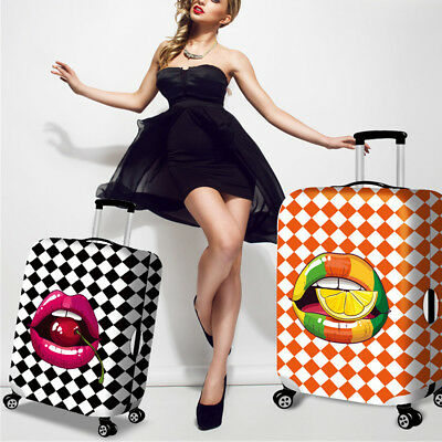 Elastic Spandex Luggage Suitcase Cover Dustproof Protector Case Bags  New CA