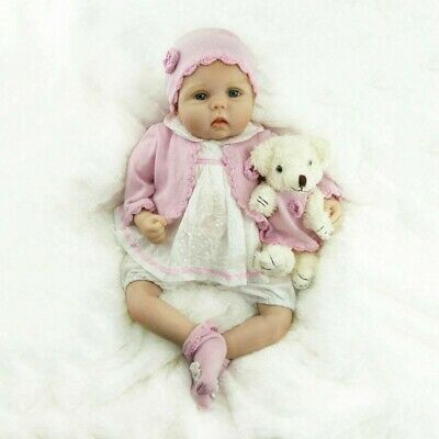 22''55cm Real Looking Reborn Toddler Doll Realistic Lifelike Baby Girl Presents