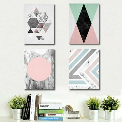 Geometry Abstract Minimalist Art Canvas Print Poster Painting Modern Home   CA