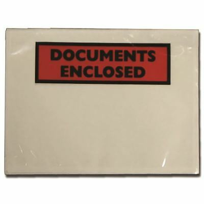 Documents Enclosed Self-Adhesive A7 Document Envelopes (Pack of 100)  [TZ69378]