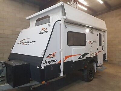 Caravan Poptop Jayco Off Road 4x4Outback 14'4 2016 Immac Con 1 Owner Adelaide