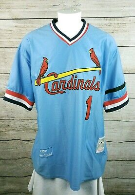 0a192af9 MITCHELL & NESS Ozzie Smith St. Louis Cardinals Batting Practice ...