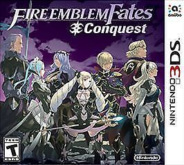 Fire Emblem Fates: Conquest (Nintendo 3DS, 2016)