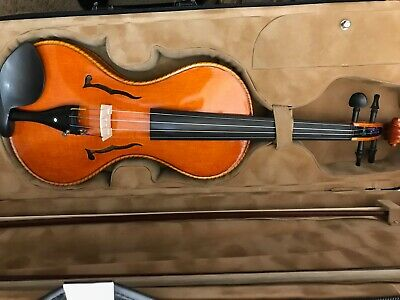 Brand new 4/4 violin with 2 unmarked bows