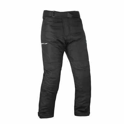 Oxford Metro 1.0 Black Motorcycle Motorbike Waterproof Thermal Trousers Pants
