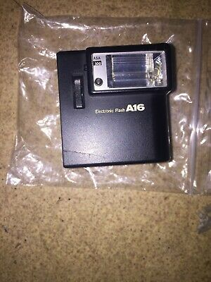 Olympus XA  FLASH A16 - ONLY FLASH WITH BATTERIES