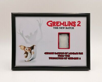 Gremlins 2 A New Batch Prop Mogwai Fur Display Coa Gizmo