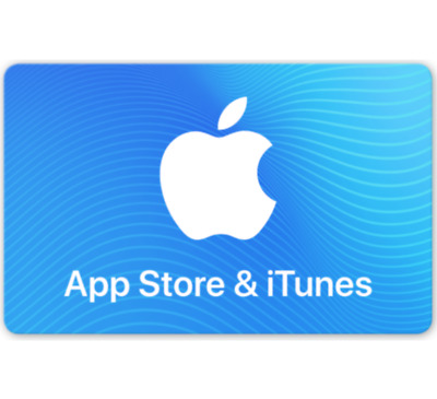 Apple App Store & iTunes Gift Cards - $100