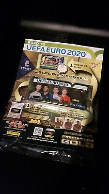 Panini Adrenalyn Road to Euro 2020 Premium GOLD --- 1 Pack