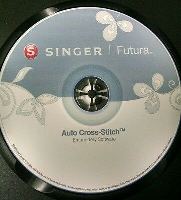 XL Auto Cross Stitch Editing Hyperfont Autopunch Photostitch EMAIL ONLY
