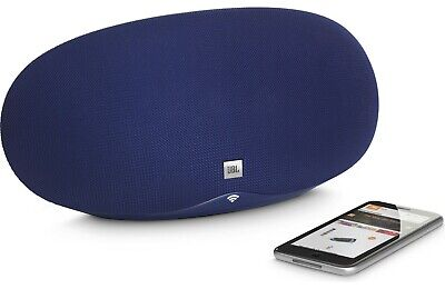 JBL Playlist Wireless speaker with Chromecast built-in and Bluetooth® (Blue)