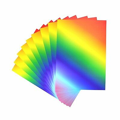 A4 RAINBOW CARD: 50 SHEETS PER PACK (180gsm)