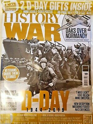 History Of War 2019 # 068 75Th Special Ed = D-Day 1944-2019 = 2 Free D-Day Gifts