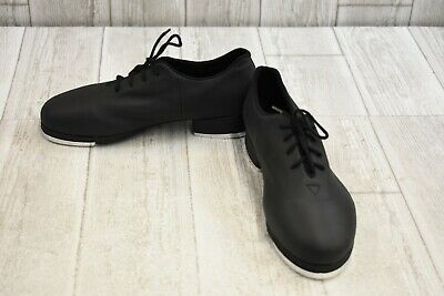 DanceNwear Youth//Adult Applause Black and White Spectator Tap Shoe
