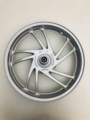 front wheel rim honda sh 125 150 without abs year 2013 to 2016 grey