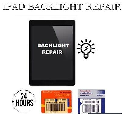 iPad Mini 1/2/3 No Backlight Dim Screen Repair Service