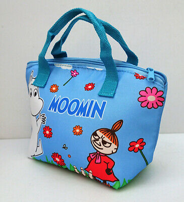 Moomin Cool Insulation Canvas Lunch Bag Kawaii Present Gift Summer Student