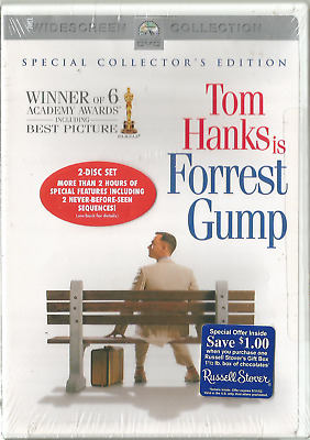 Forrest Gump Special Collector's Edition Tom Hanks(2001) Dvd New Sealed Rare Oop