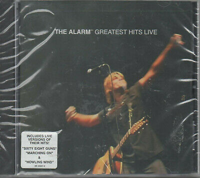 The Alarm Greatest Hits Live CD NEU Sexy Eight Guns Marching On Howling Wind