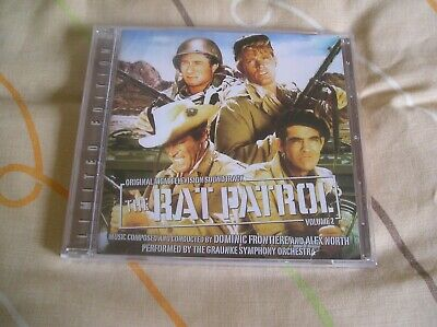 The Rat Patrol Vol 2 Alex North Domic Frontiere [Audio CD] Lala Land release
