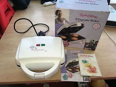 Rachel Allen 6 Cupcake Maker BOXED WITH INSTRUCTIONS