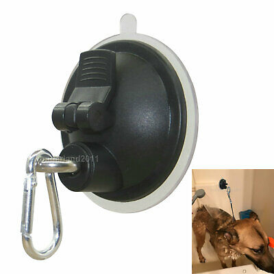 Suction Cup Hook Cleat for Pet Dog & Pet cat Bathtub, Shower & Bathing, Grooming