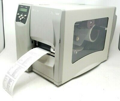 Zebra S4M Label Printer (S4M00-2001-0100T) TESTED AND WORKING