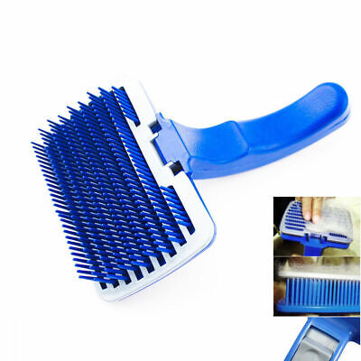 Self Cleaning Brush For Dogs Cats Removes Pet Fur Hair Shedding Grooming Comb