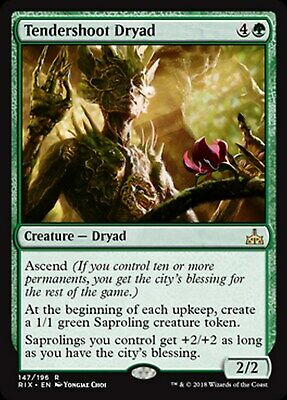 MRM FRENCH Dryade de jeunes pousses - Tendershoot Dryad MTG Magic RIX