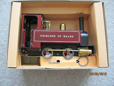 Mamod Sl4 Princess Of Wales Live Steam Locomotive Loco ~ O Gauge ~