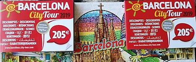 Spain Barcelona 2019 discount cards offers for various attractions sightseeing