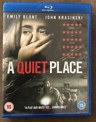 A Quiet Place Emily Blunt Blu Ray 2018 Horror Thriller