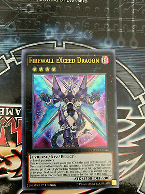 Firewall eXceed Dragon Ultra Dark Neostorm 1st ED #DANE-EN036