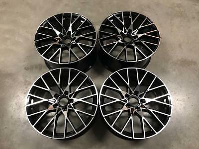 """19"""" 788M M2 Competition Style Wheels Gloss Black Machined BMW F20 F21 1 2 Series"""