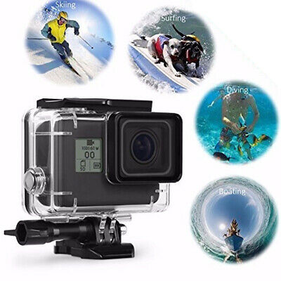 Diving Waterproof Housing Case For GoPro Hero 5 6 7 Camera Accessories New P7A0R