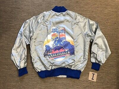 Vintage Diet Classic Pepsi Soda Jacket Xl Made In Usa