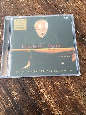 Plays Bach-the 50th Anniversary von Jacques Loussier ... | CD | Zustand sehr gut