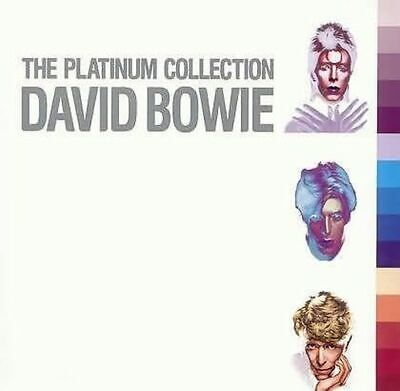DAVID BOWIE --- THE PLATINUM COLLECTION (3-fach CD im Pappschuber)
