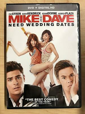 Mike and Dave Need Wedding Dates (DVD, 2016) - F0428
