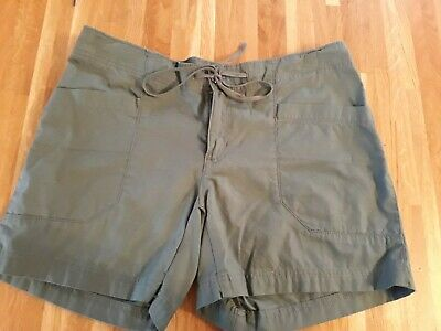 Patagonia Womens Mandala Shorts - Size 8 - Dark Green - Brand New With Tags