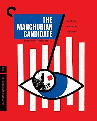 The Manchurian Candidate Like New Blu-ray Criterion Collection Sinatra Leigh