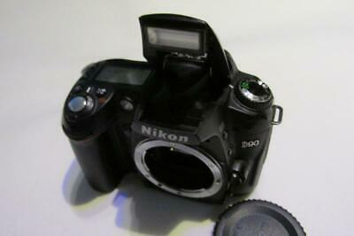 Nikon D D90 12.3MP DSLR Camera (FHD Camcorder) - Body Only - GOOD WORKING ORDER!