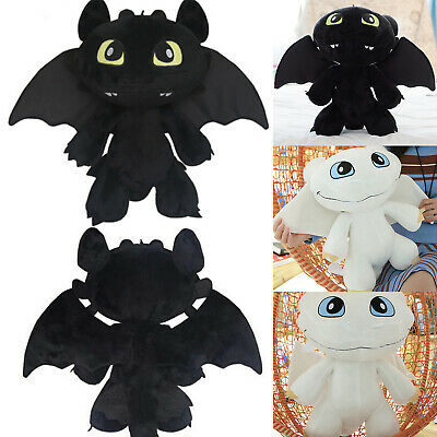 Stuffed Plush Doll How to Train Your Dragon Toothless Night Fury Cuddly Toy 30cm