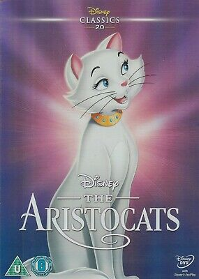 disneys the aristocats dvd with classic o ring slipcover brand new & sealed