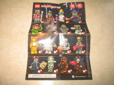 New Lego 71010 Minifigures Series 14 Monsters - PICK YOUR MINIFIGURES **READ**