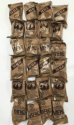 Military MRE Ready to Eat Survival Prepper Ration Meal Lot of 7 Random Menus