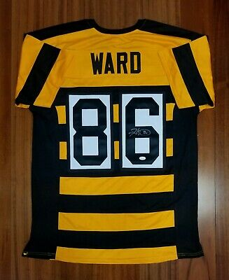 31c7a83c513 HINES WARD AUTOGRAPHED Signed Jersey Pittsburgh Steelers JSA - $9.99 ...